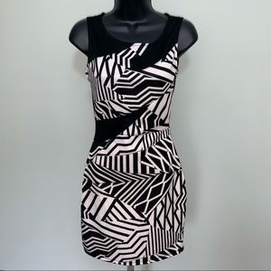 Sexy Mesh back mini dress NWT